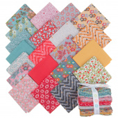 Floral Hues Cotton Lawn Fat Quarter Bundle