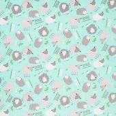 Comfy Flannel® - Sheep Mint Yardage