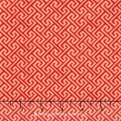 Sundance - Geometric Red Yardage
