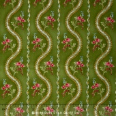 Juliette - Wave Dark Green Yardage