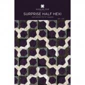 Surprise Half Hexy Quilt Pattern by MSQC