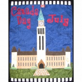 July Canada Day Holiday House Mini Quilt Kit