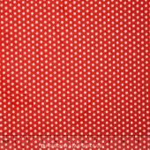 """Cuddle Classic Swiss Dot - Scarlet 60"""" Minky Yardage"""