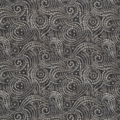 "Wilmington Essentials - Ebb and Flow Charcoal 108"" Wide Backing"