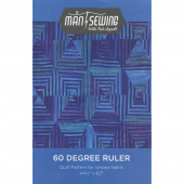 60 Degrees Quilt Pattern from Man Sewing