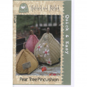 Pear Tree Pincushion Pattern