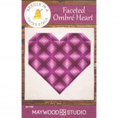 Faceted Ombre Heart Pattern