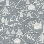 Scandi 5 - Landscape Gray Yardage