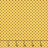 Follow the Sun - Dot Yellow Yardage