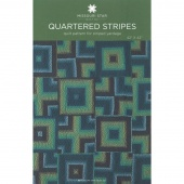 Quartered Stripes Pattern by Missouri Star
