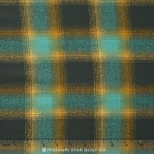 Mammoth Flannel - Plaid Lagoon Yardage
