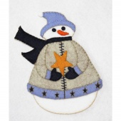 Simon Snowman Wool Felt Kit