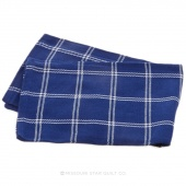 Tea Towel - Windowpane Navy