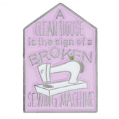 A Clean House Pin