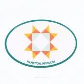 MSQC Star Oval Sticker by MSQC
