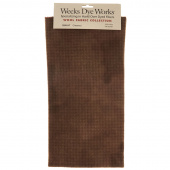 Weeks Dye Works Hand Over Dyed Wool Fat Quarter - Houndstooth Chestnut