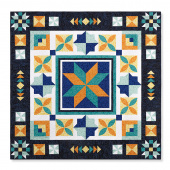 Missouri Star BLOCK 2021 Talavera Tile Quilt Sew-Along Fabric Kit