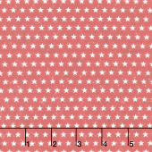 Liberty Lane - Small Stars Red Yardage