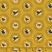 The Lion King - Medallions Gold Yardage