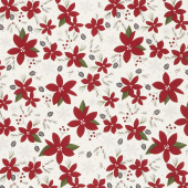 Winterberry - Main Cream Yardage