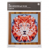 Jungle Abstractions Quilt - The Lion Pattern