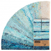 "Tonga Treats Batiks - Beach 2.5"" Strips"