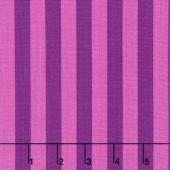 Tula Pink's All Stars - Pom Poms & Stripes Tent Stripe Foxglove Yardage