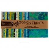 Tonga Treats Batiks - Lagoon Charm Pack