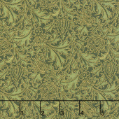 Morris Holiday 1897 - Thistle Pine Metallic Yardage