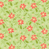 Summer Sweet - Garden Song Sprout Yardage