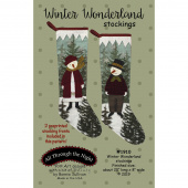 Winter Wonderland Stockings Pattern