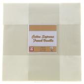 Cotton Supreme Solids French Vanilla Patty Cake