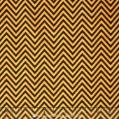 Come Sit a Spell - Chevron Black/Orange Yardage