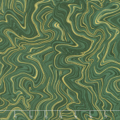Holiday Flourish 11 - Holiday Marble Holly Metallic Yardage