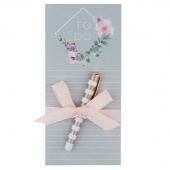 Lovely Garden Diamond Magnetic Listpad with Pen