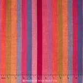 Kaffe Wovens - Broad Stripe Watermelon Yardage