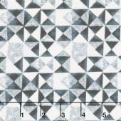 Limoncello - Mosaic Slate Gray Pearlized Yardage