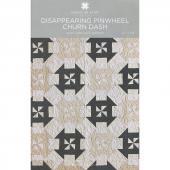 Disappearing Pinwheel Churn Dash Pattern by MSQC