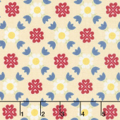 Gretel - Lattice Yellow Yardage