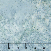 Baker's Dozen Batiks - Small Dots Light Blue Yardage