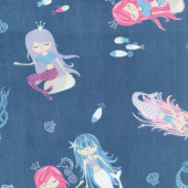"Cuddle® Prints - Splash! Belize 60"" Minky Yardage"