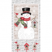 Snow Place Like Home - Snowman Panel