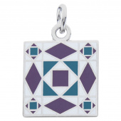 Storm at Sea Charm - Purple