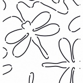 Quilt Stencil Dragonfly Stipple