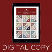 Digital Download - Disappearing Pinwheel Baskets by MSQC