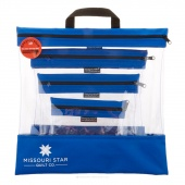 Missouri Star's SEEYOURSTUFF 4 Bag Set - Royal