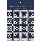 Blue Ribbon Ohio Star Quilt Pattern by Missouri Star
