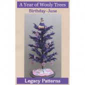 A Year of Wooly Trees Pattern - June Birthday
