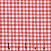 Afternoon Picnic - Gingham Red Yardage