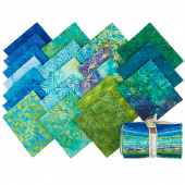 Lemon Grass Batiks Fat Quarter Bundle